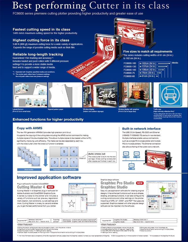 Máy cắt bế Graphtec FC8600
