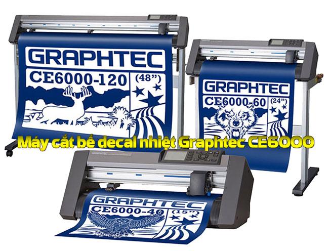 Máy cắt bế decal nhiệt Graphtec CE6000