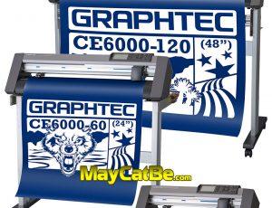 Máy cắt bế tem nhãn decal - hộp giấy - thiệp Graphtec CE6000 Plus