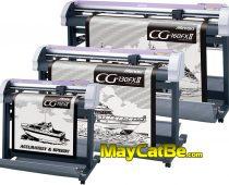 Máy cắt bế tem nhãn decal Mimaki CG-75FXII, 130FXII, 160FXII Nhật Bản