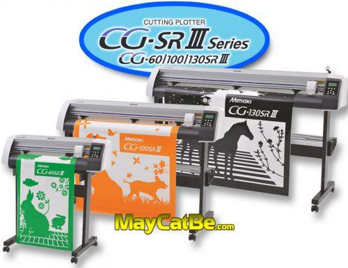 Máy cắt bế Mimaki CG SRIII Series (60SRIII, 100SRIII, 130SRIII)