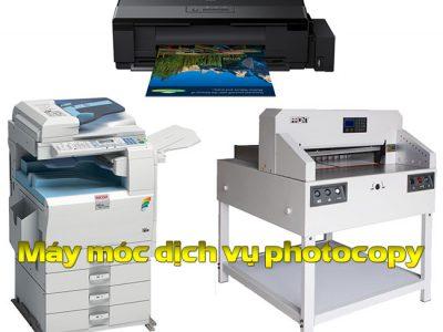 Dịch vụ photocopy có cần sử dụng máy cắt bế decal tem nhãn không?