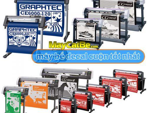 Máy bế decal cuộn - máy cắt bế decal cuộn loại nào tốt nhất?