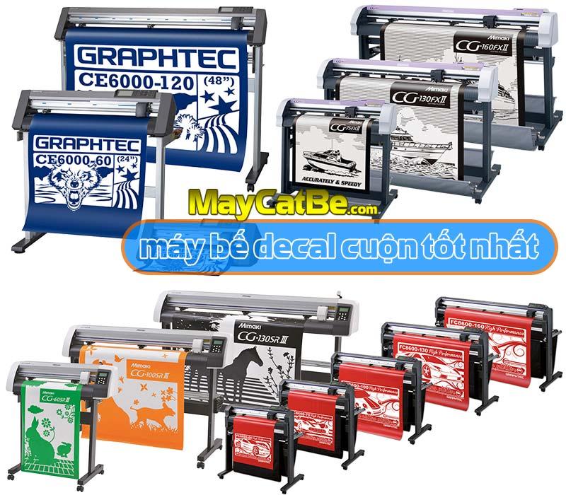 Máy bế decal cuộn, máy cắt bế decal cuộn loại nào tốt nhất?