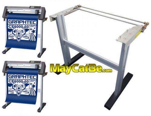 Chân máy cắt bế decal Graphtec CE6000-60