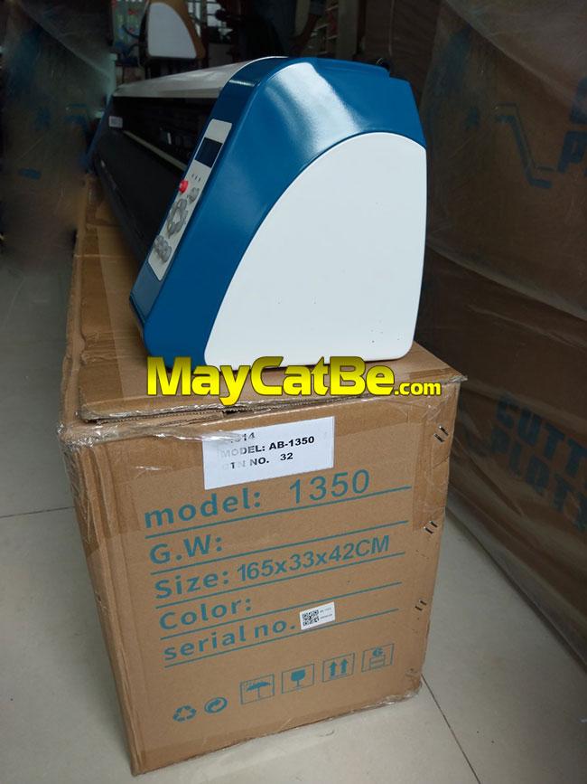 Máy cắt bế decal tem nhãn khổ 1m2 AB-1350