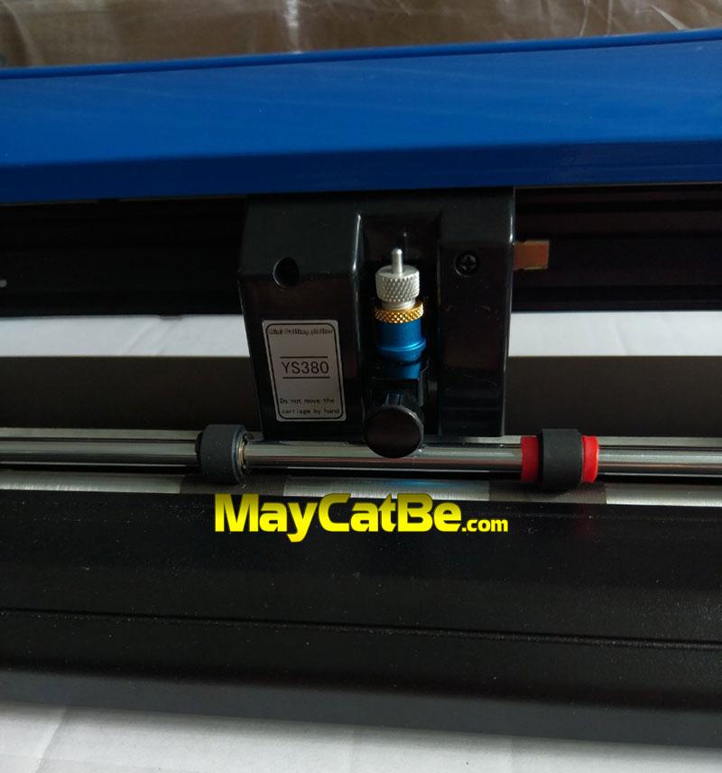 Máy cắt bế mini ART-380 - đầu dao cắt