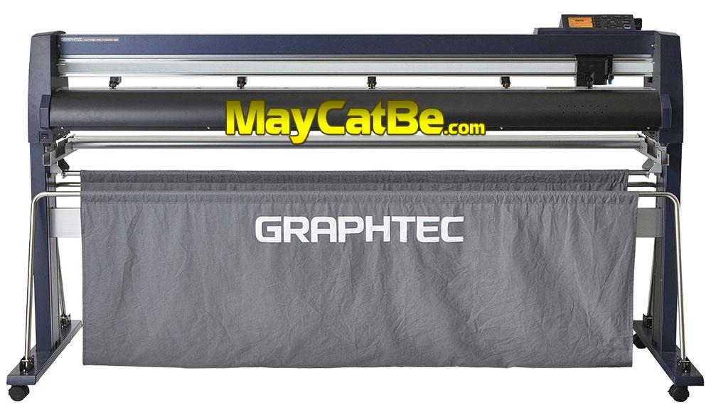 Máy cắt bế decal tem nhãn Graphtec FC9000-160 khổ 1m6