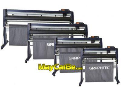 Máy cắt bế decal tem nhãn Graphtec FC9000 (Khổ 75, 1m4, 1m6) Nhật Bản
