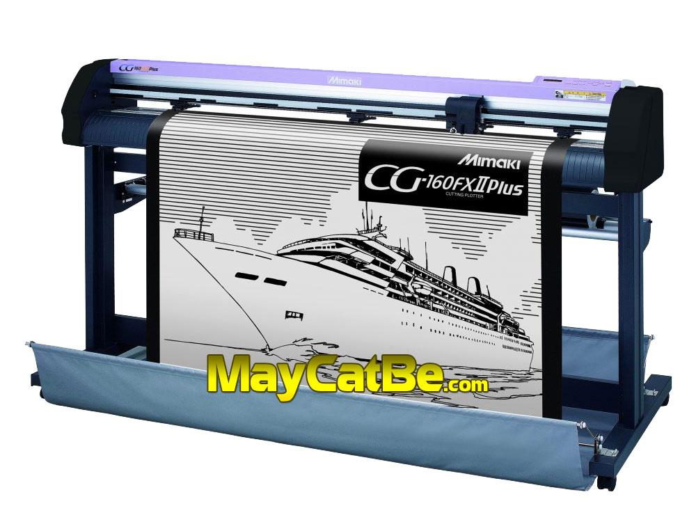 Máy cắt bế decal tem nhãn Mimaki CG-160FXII Plus